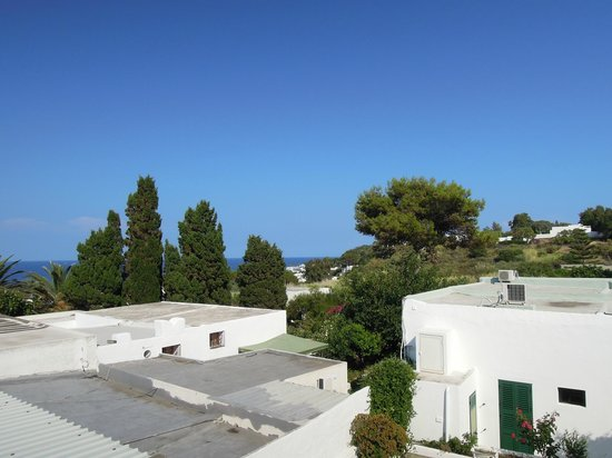 Hotel Villa Petrusa: Daytime view from the terrace