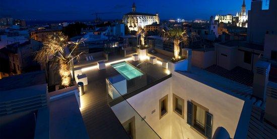 Palma Suites: Roof terrace