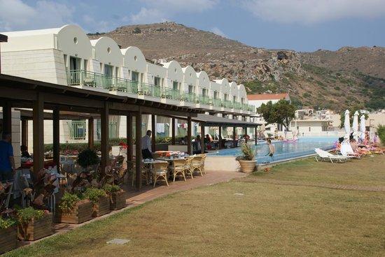 Grand Bay Beach Resort: Espace restaurant vue sur mer
