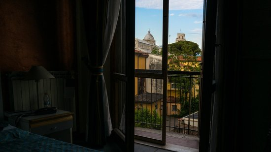 Hotel Roma: View from room 35