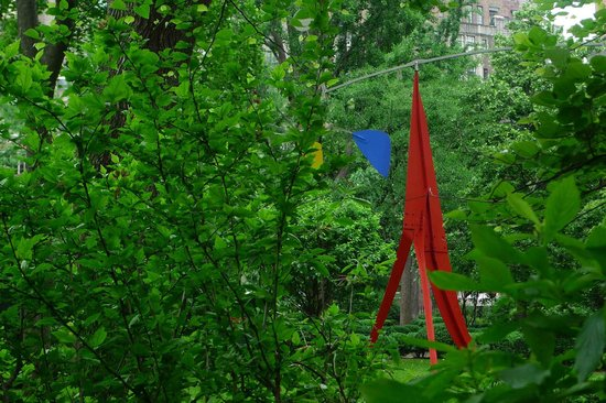 The Marcel at Gramercy : A Calder structure in the park!