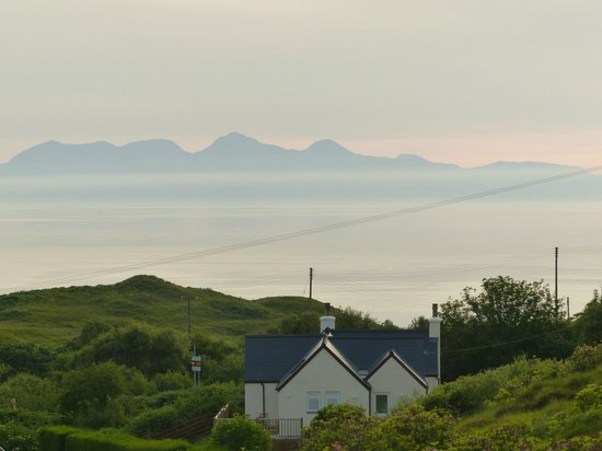 Heatherlea : View Isle of Rum