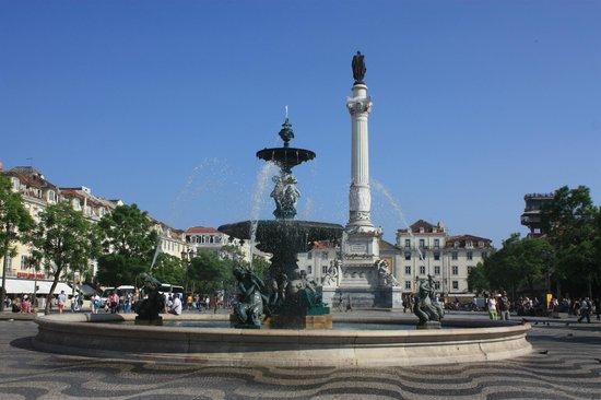 Pensao Residencial Portuense: Praça de Rossio