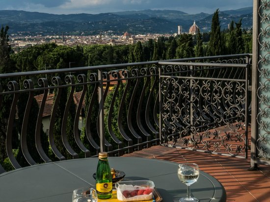 Villa Belvedere - Florence: View from our terassce.