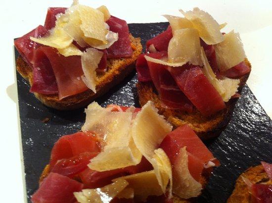La Terrasse : Pata Negra & Pan con tomate