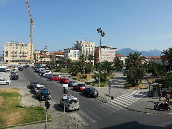 Hotel La Pace: Vista dalla terrazza
