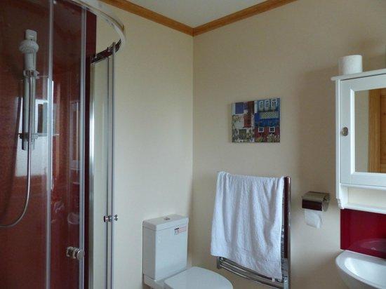 Solas Bed and Breakfast: Bathroom