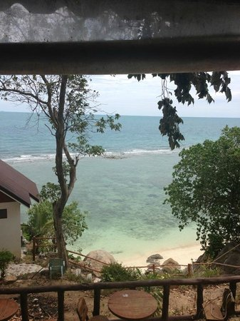 Ling Sabai Bungalows : View from the Restaurant
