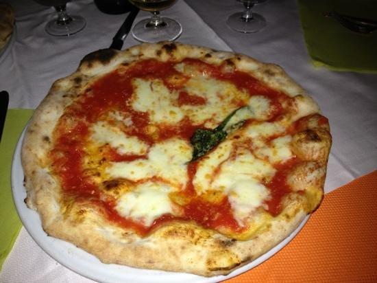 Ristorante Pizzeria del Corso: pizza margherita