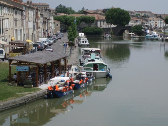 Hotel du Canal: Canal du Midi at Castelnaudary