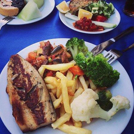 Grand Lukullus Hotel : Прекрасный и насыщенный ужин!