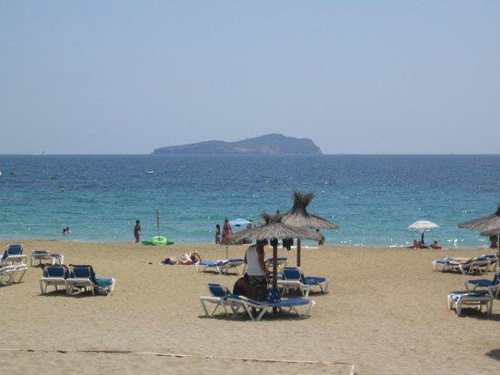 Veraclub Ibiza: Vista sull'isola di Tago Mago Ibiza