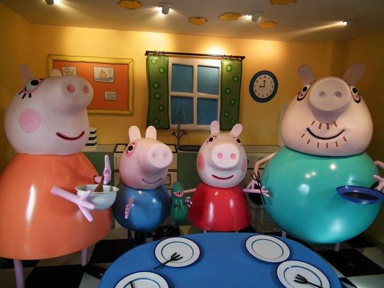 Peppa Pig House изображение тематический развлекательный парк