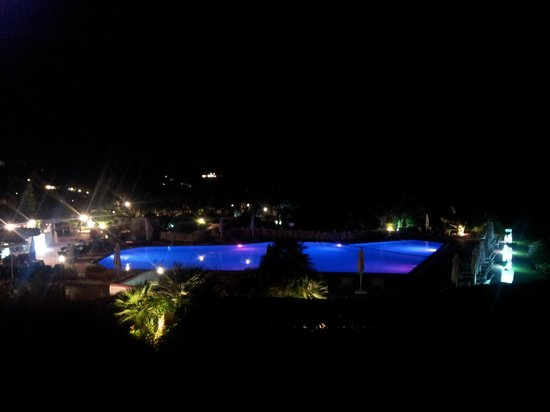 Grand Hotel in Porto Cervo : View after sunset.