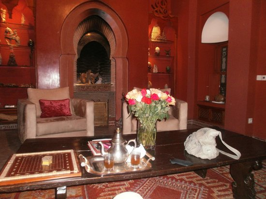 Riad Monika: Mint Tea welcome on arrival