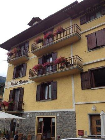Hotel Ruitor: hotel aangezicht
