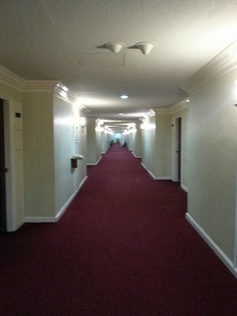 Grand Menseng Hotel: wide and spacious corridor