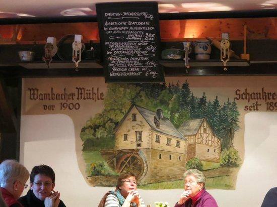 Wambacher Muhle: In der Wambacher Mühle