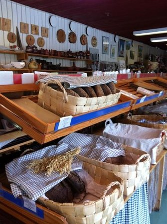 Viitasaari, Finland: Nestori offers also homemade local bread