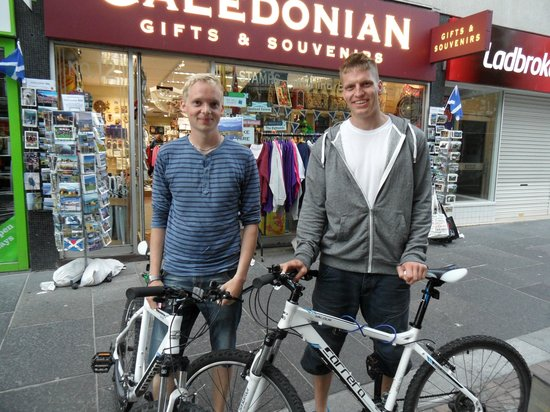 Inverness Bike Hire: 10hours later :)