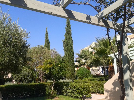 Avithos Resort: view from our terrace