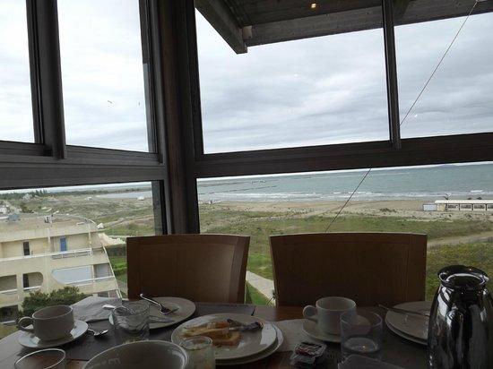 Hôtel Les Bains de Camargue : vista dal ristorante
