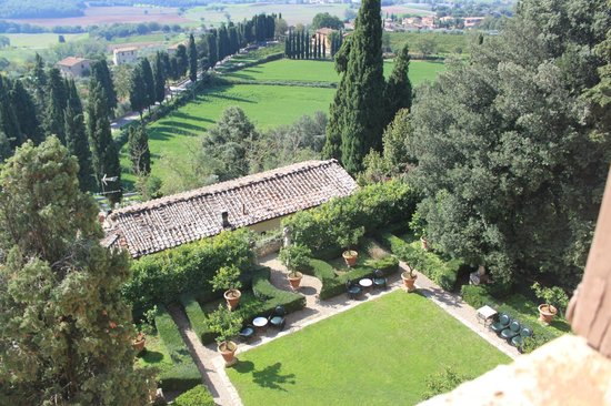 Relais La Suvera: View from the room