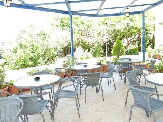 Rodon Hotel : Terrasse