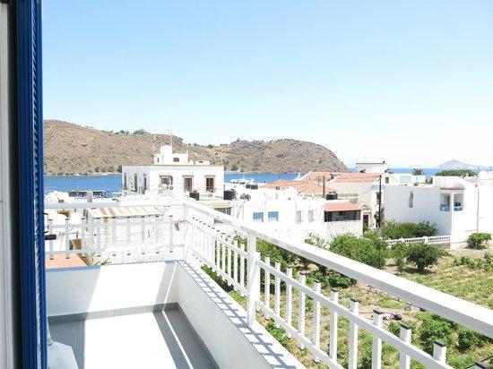 Rodon Hotel : Aussicht Balkon 2