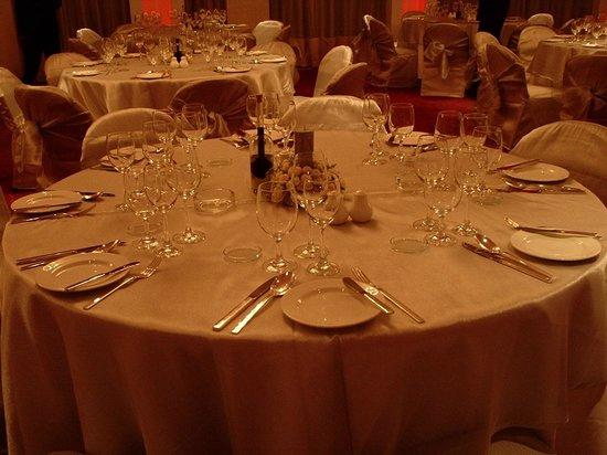 Banquet table setup - Picture of The Park New Delhi, New Delhi ...