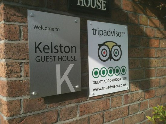 Kelston Guest House: Our new sign for 2013