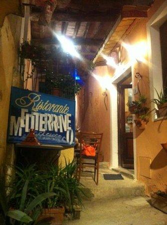 Mediterraneo: vicoletto caratteristico