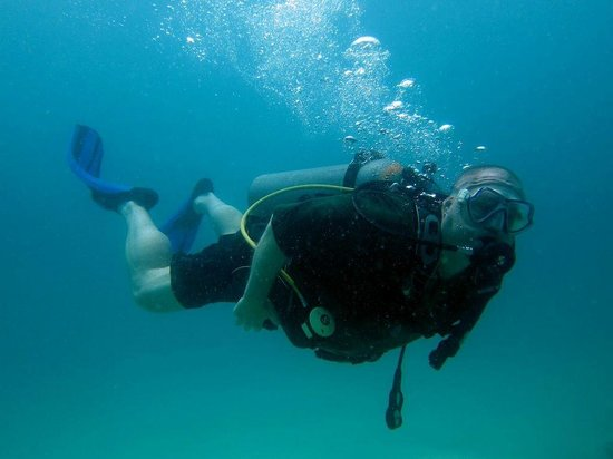 Rainbow Scuba and Tours: My first dive