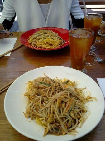 Cha Cha Moon : Crispy vegy and noodles