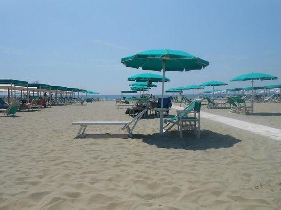 Albergo Battelli: Spiaggia