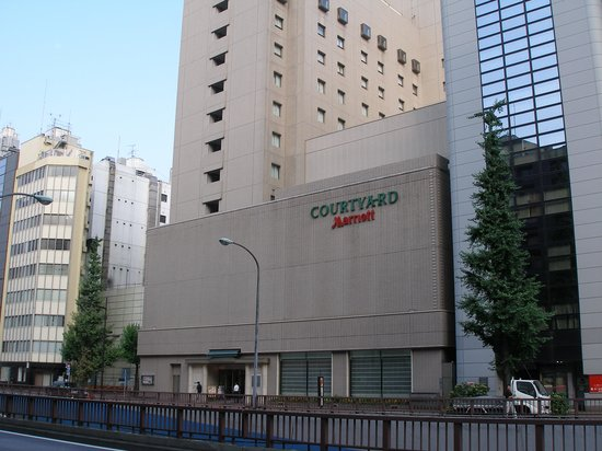 Courtyard Tokyo Ginza Hotel: Front of hotel