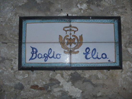 Baglio Elia Resort & Restaurant : targa