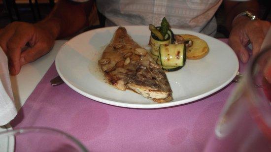 Gastrobar Can Sanchez : Sea Bass, at Can Sanchez