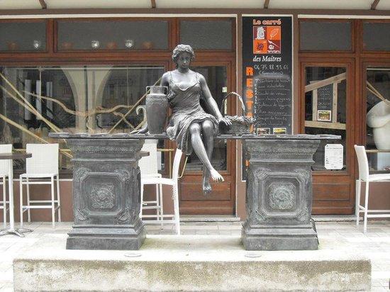Grand Hôtel des Bains : Dans le village