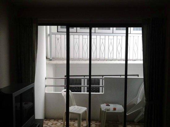 Baan Manthana Hotel: Ausblick Zimmer 2