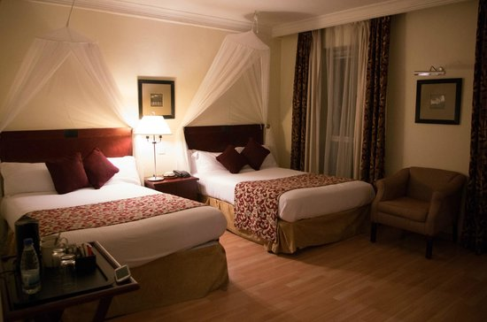 The Arusha Hotel : spatious double room