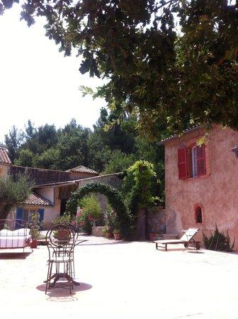 La Bastide du Plantier : Terrasse d'été
