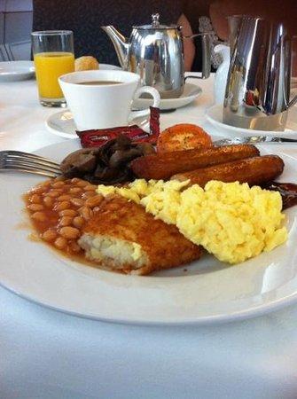 Cork International Hotel : Lovely Full Irish Breakfast!