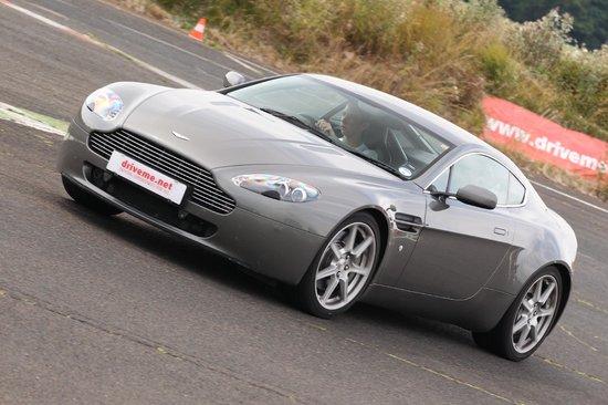 Me Driving The Aston Martin V Vantage Picture Of DriveMe Driving - Aston martin near me