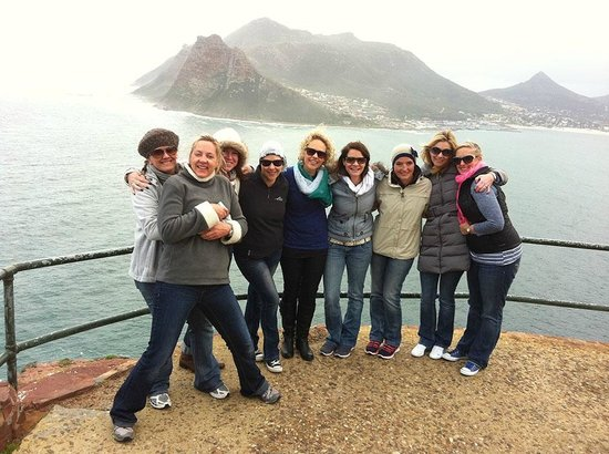 Skaris Touring: Top of Chapman's Peak Drive on the way to the Cape Of Good Hope Reserve