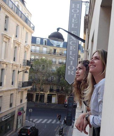 Hotel Excelsior Latin: da janela do quarto