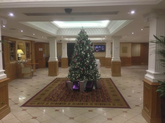Hilton East Midlands Airport: Reception