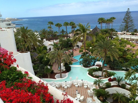 Beautiful view picture of hotel jardin tropical costa for Jardin tropical costa adeje