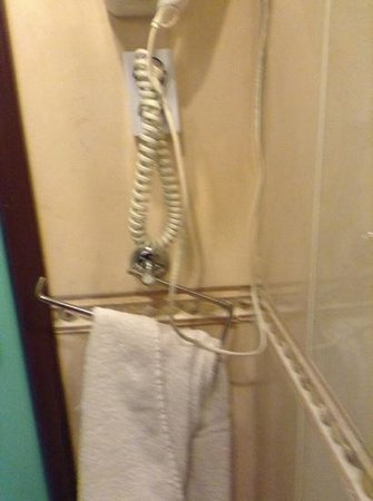 Sun Palace Hotel: wonky towel rail which swung around