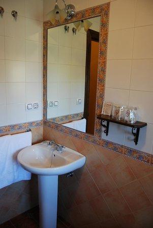 Cortijo de Tajar Hotel: Baño rústico